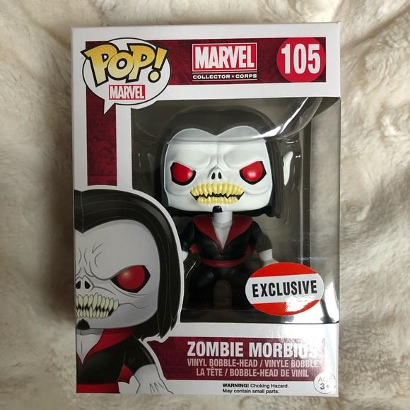 Zombie Morbius >> Funko Pop Zombie Morbius Marvel 105